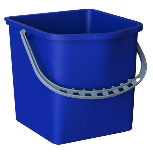 SECCHIO RETTANGOLARE blu